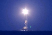 Kalibr cruise missile launch