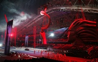 The opening ceremony of the Winter Olympic Games in Sochi