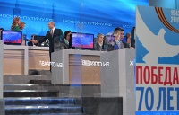 """On April 16 Russian President Vladimir Putin opened his annual televised question and answer session officially known as """"The Direct Line with Vladimir Putin"""""""