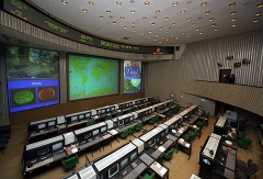 Mission control center in Korolyov outside Moscow (archive)