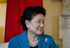 China's Vice Premier of the State Council Liu Yandong