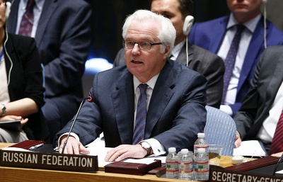 Russia to support proposal by UN envoy for Syrian conflict settlement