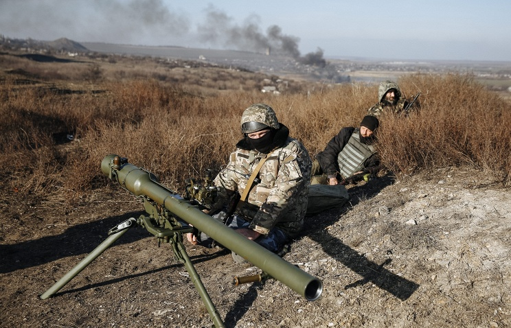 Ukraine`s Donetsk republic accuses Kiev forces of 19...
